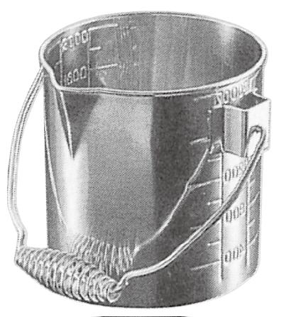ビーカ ステンレス製 φ180x210mm