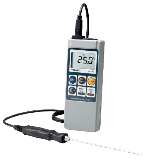 デジタル温度計(熱電対)仕様-99.9〜1250℃
