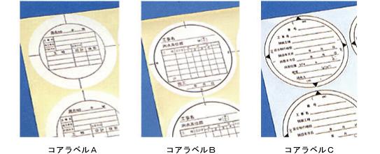 コアラベル サイズ 日本道路公団規格等5種