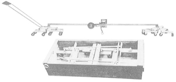 縦断路面凹凸試験機(プロフィルメーター)16輪