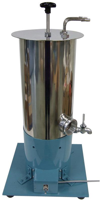 アブソン法抽出器 ステンレス製 水冷式