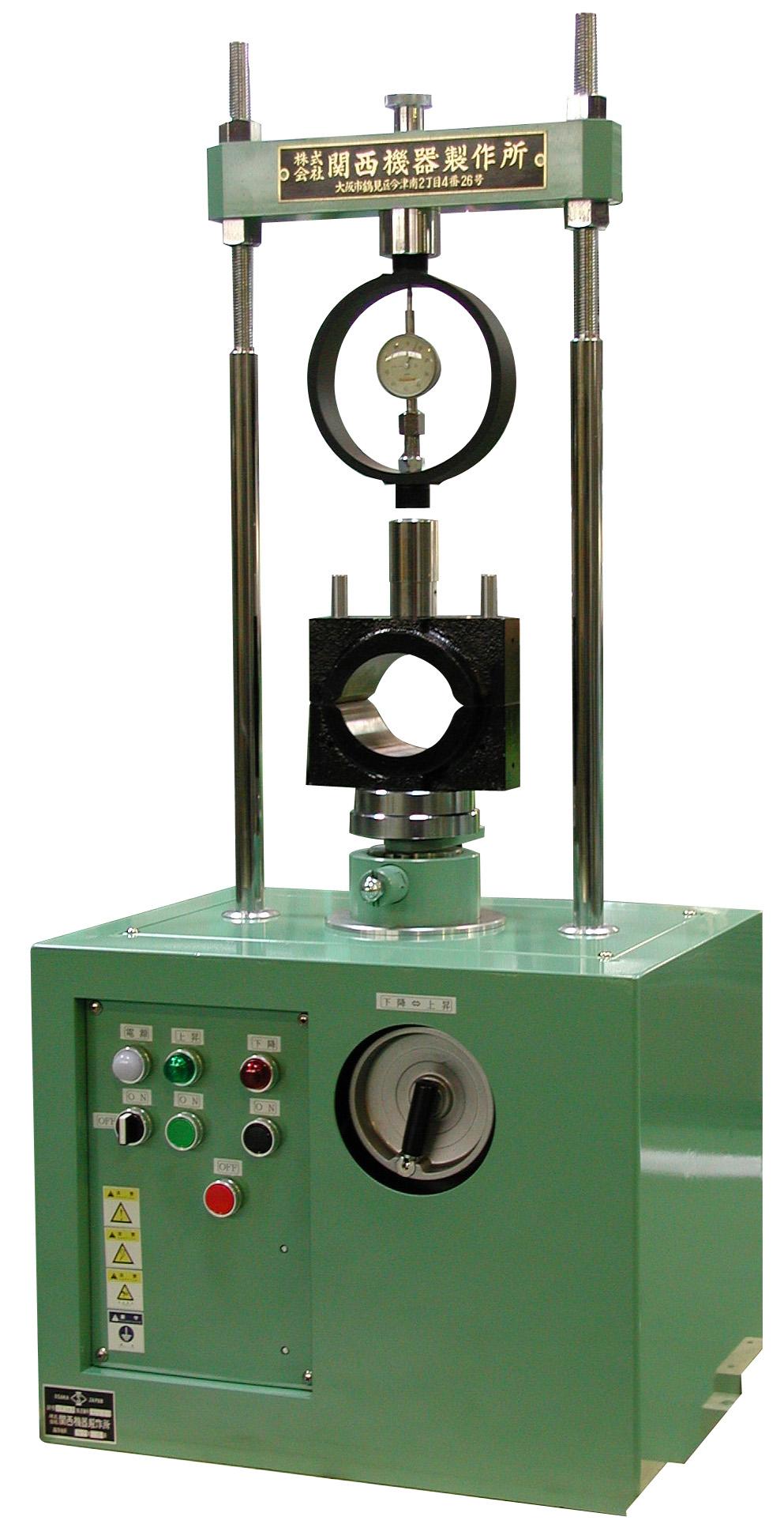 ボックス型マーシャル安定度試験装置