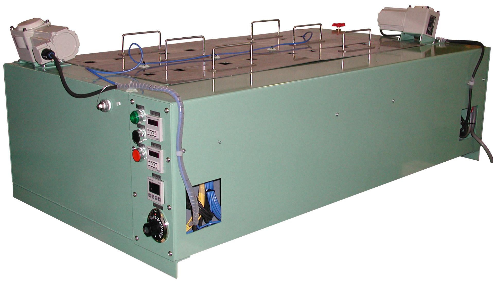 水浸膨張試験用水槽 W1000×D500×H300