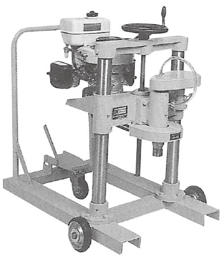 コア採取機 現場用 φ100〜φ150mm
