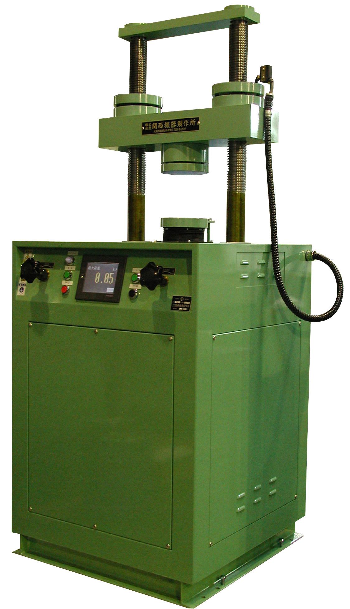 モルタル圧縮試験機(デジタル表示)