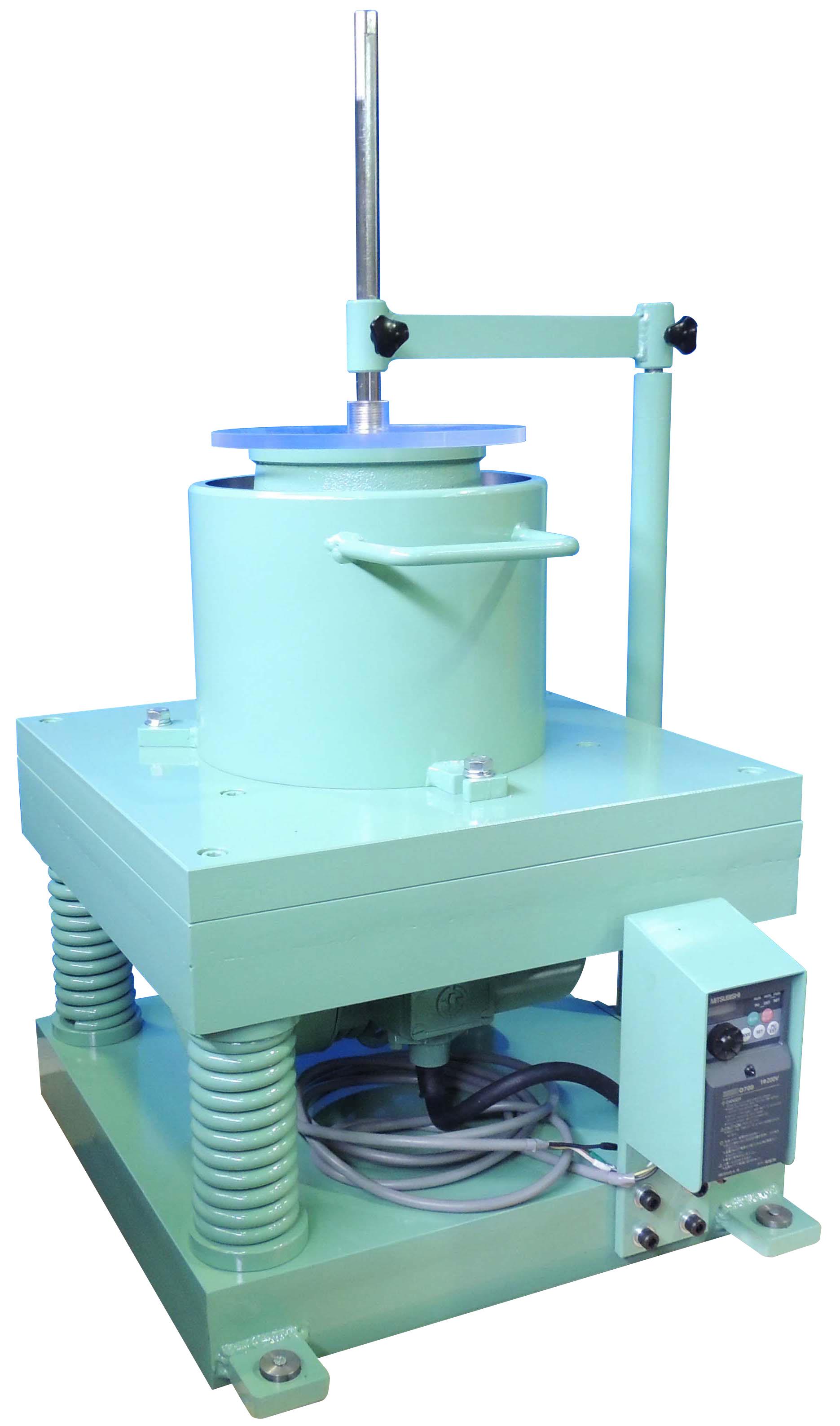振動台式コンシステンシー試験機 インバーター付
