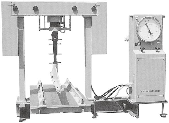 能力200kN小型曲げ試験機 (クロスヘッド固定型)