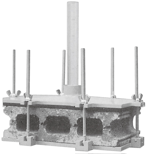 透水試験装置(コンクリートブロック)