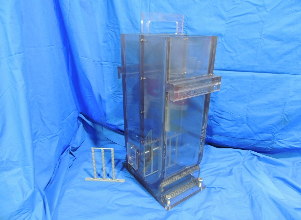 U型容器 W280mmxD200mmxH680mm  流動障害2種