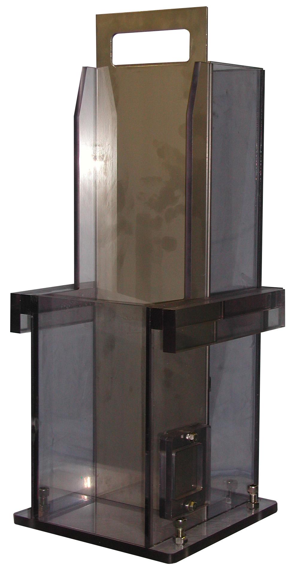 ボックス型容器 W280mmxD200mmxH680mm  流動障害2種