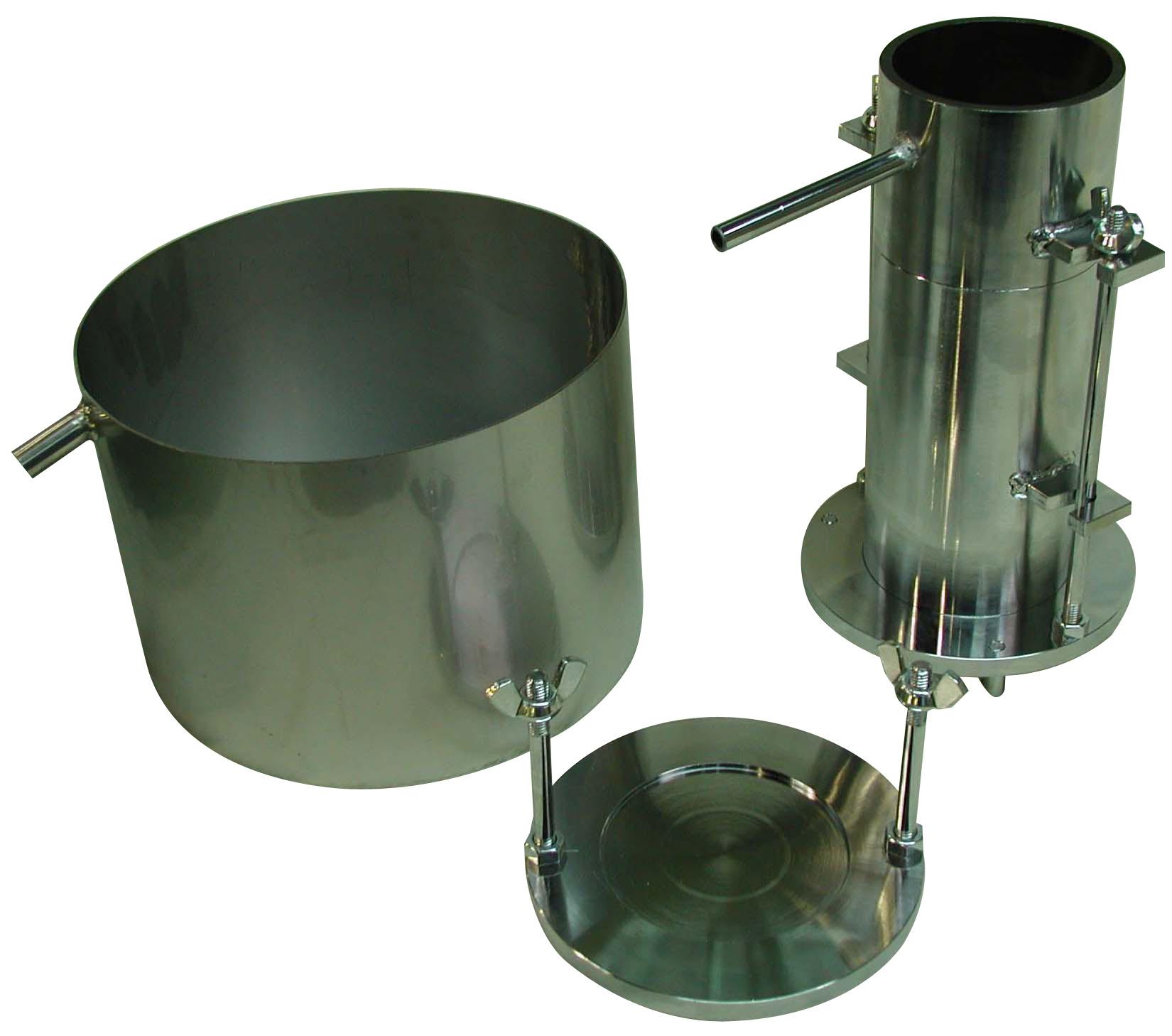 ポーラスコンクリートの透水試験装置