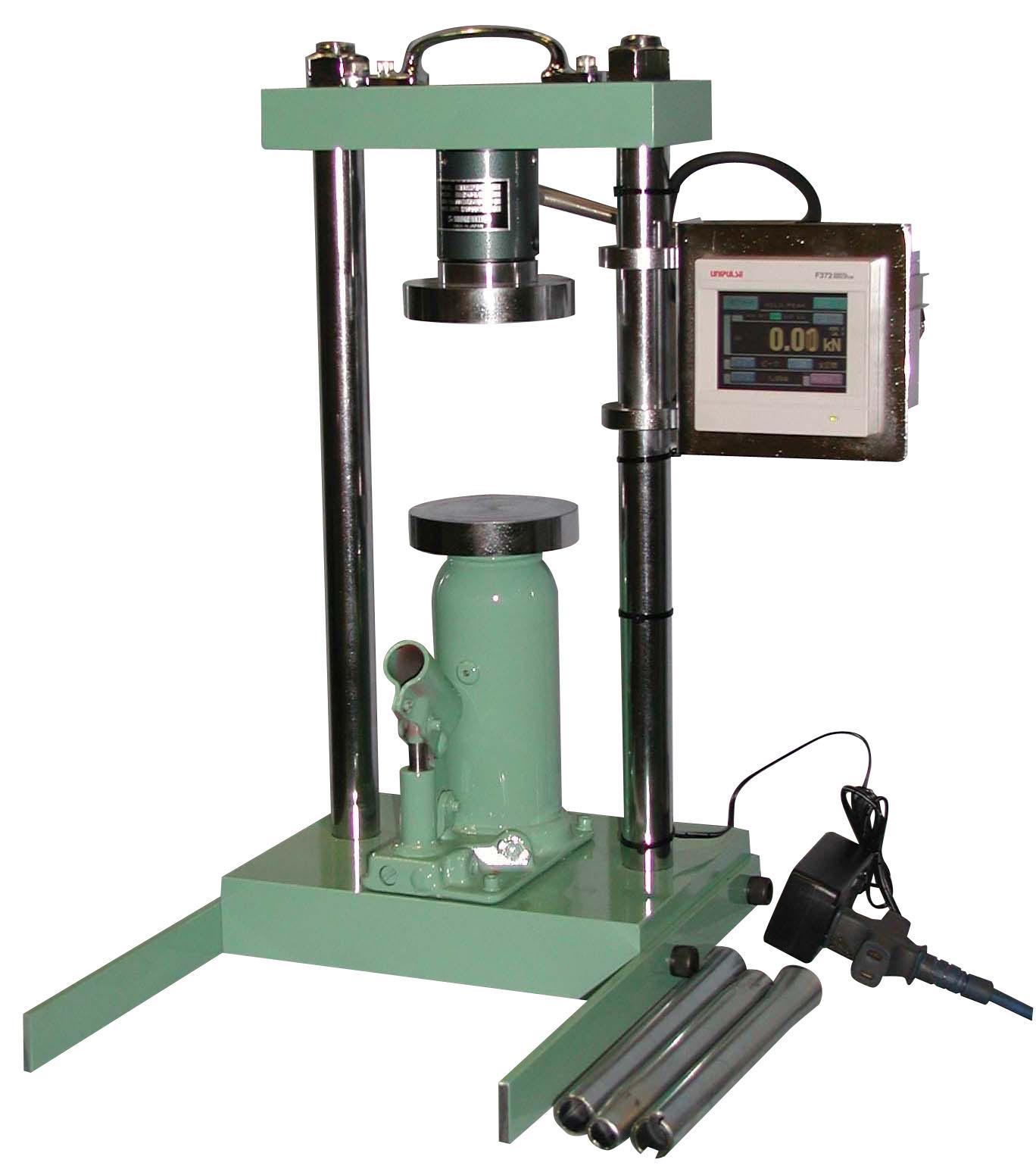 能力40kN簡易圧縮試験機