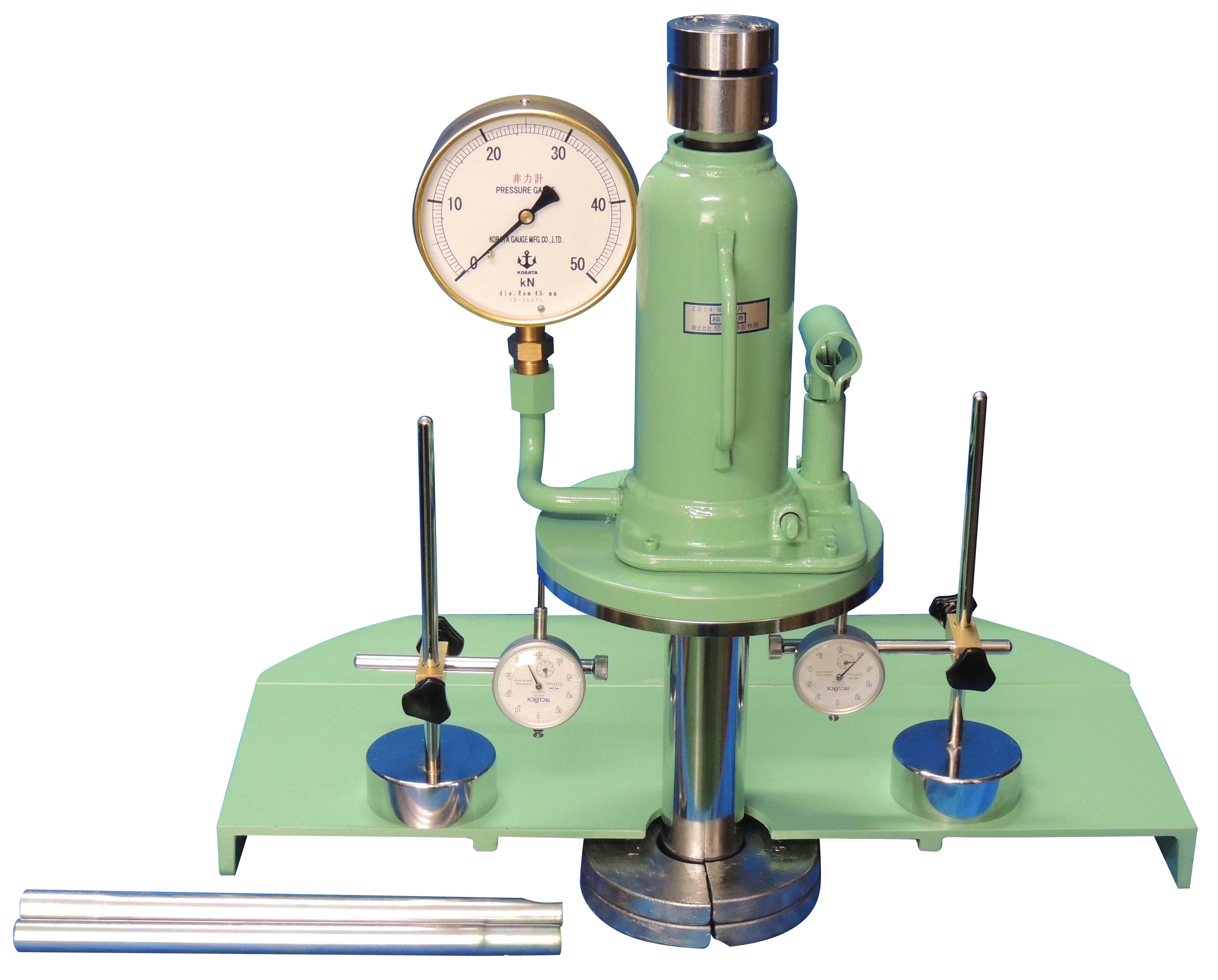 油圧ジャッキ式現場CBR試験機 50kN