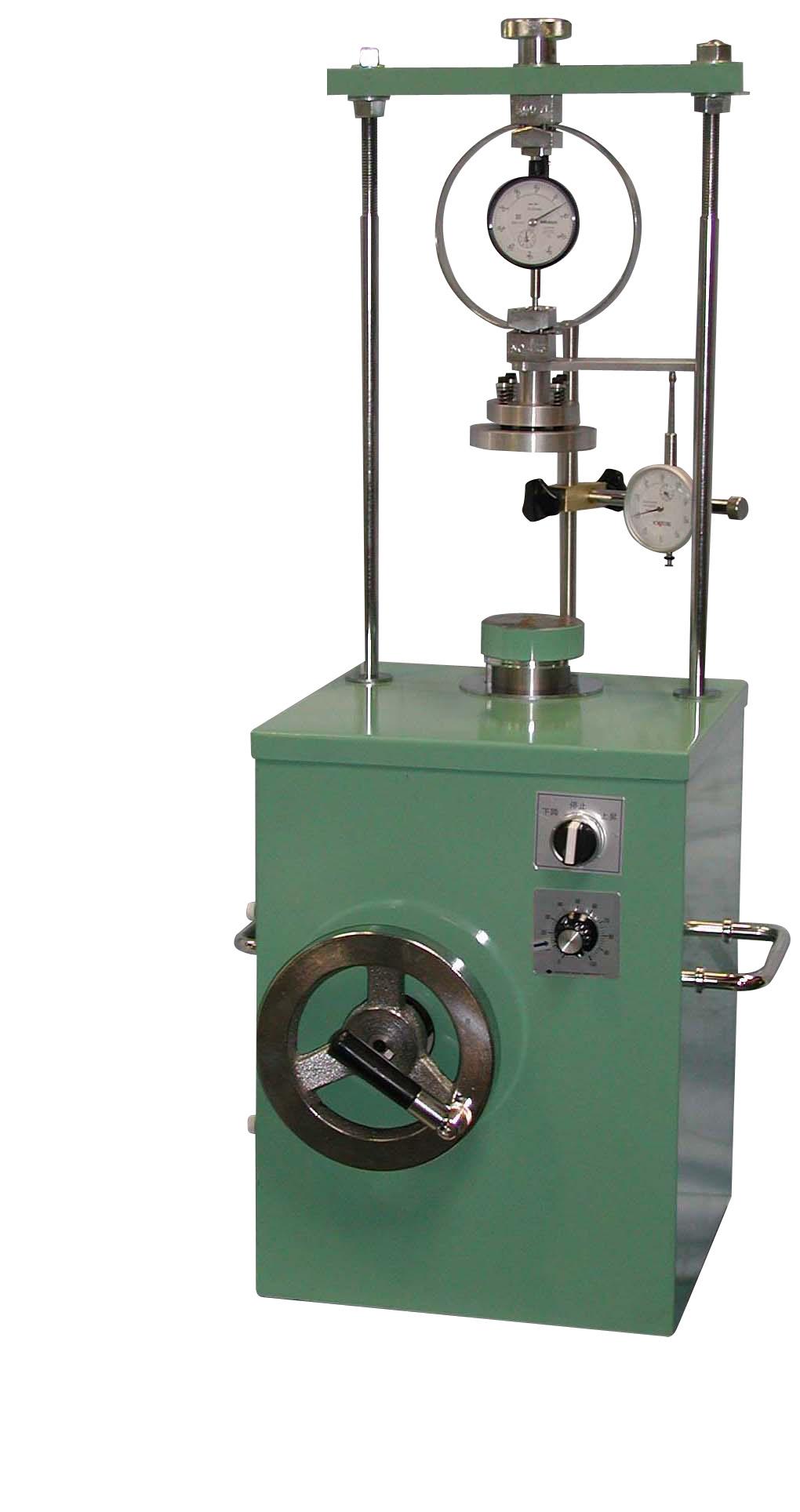 電動・手動兼用型土の一軸圧縮試験機 5000N