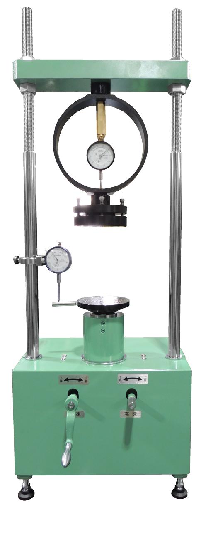 スクリュージャッキ式一軸圧縮試験機(10kN・20kN・30kN(35kN))