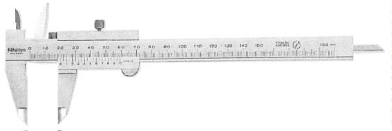 ノギス 1:標準型 2:デジマチック A:100mm B:150mm C:200mm D300mm