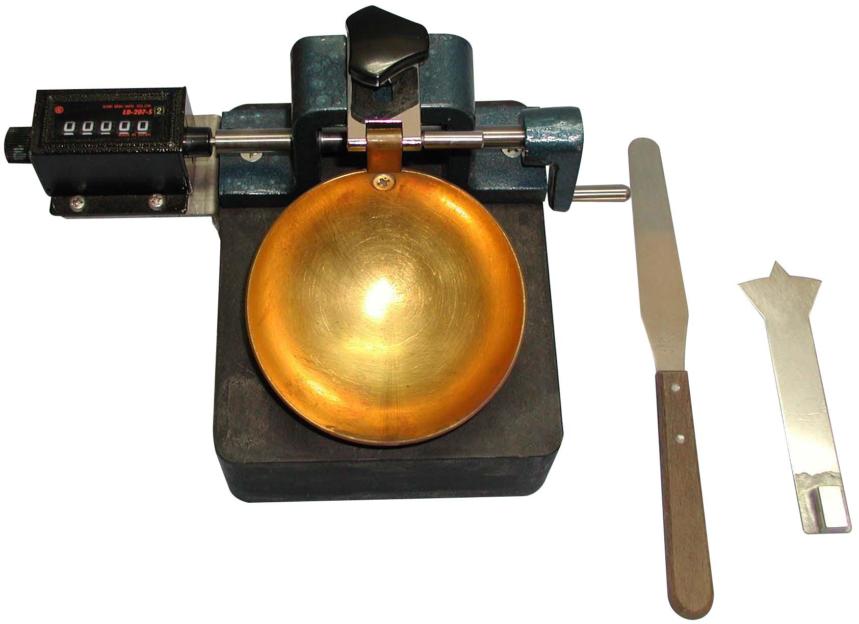 カウンター付液性限界測定器