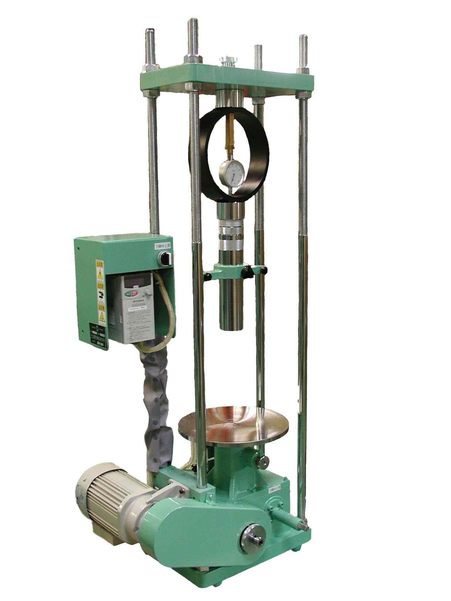 CBR試験機電動式載荷装置 最大能力50kN