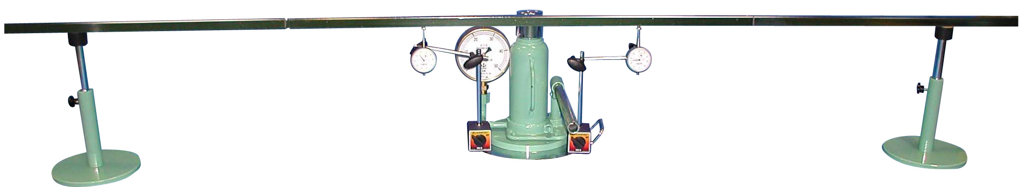 マグネット式平板載荷試験装置(二点計測式) A:50kN B:100kN