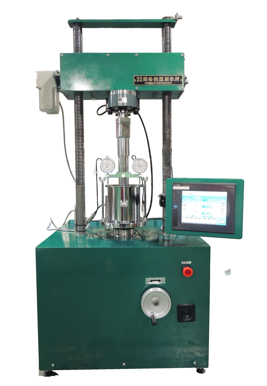 土の一軸圧縮試験機(土の万能試験機) CBR試験機/一軸圧縮試験機 100kN