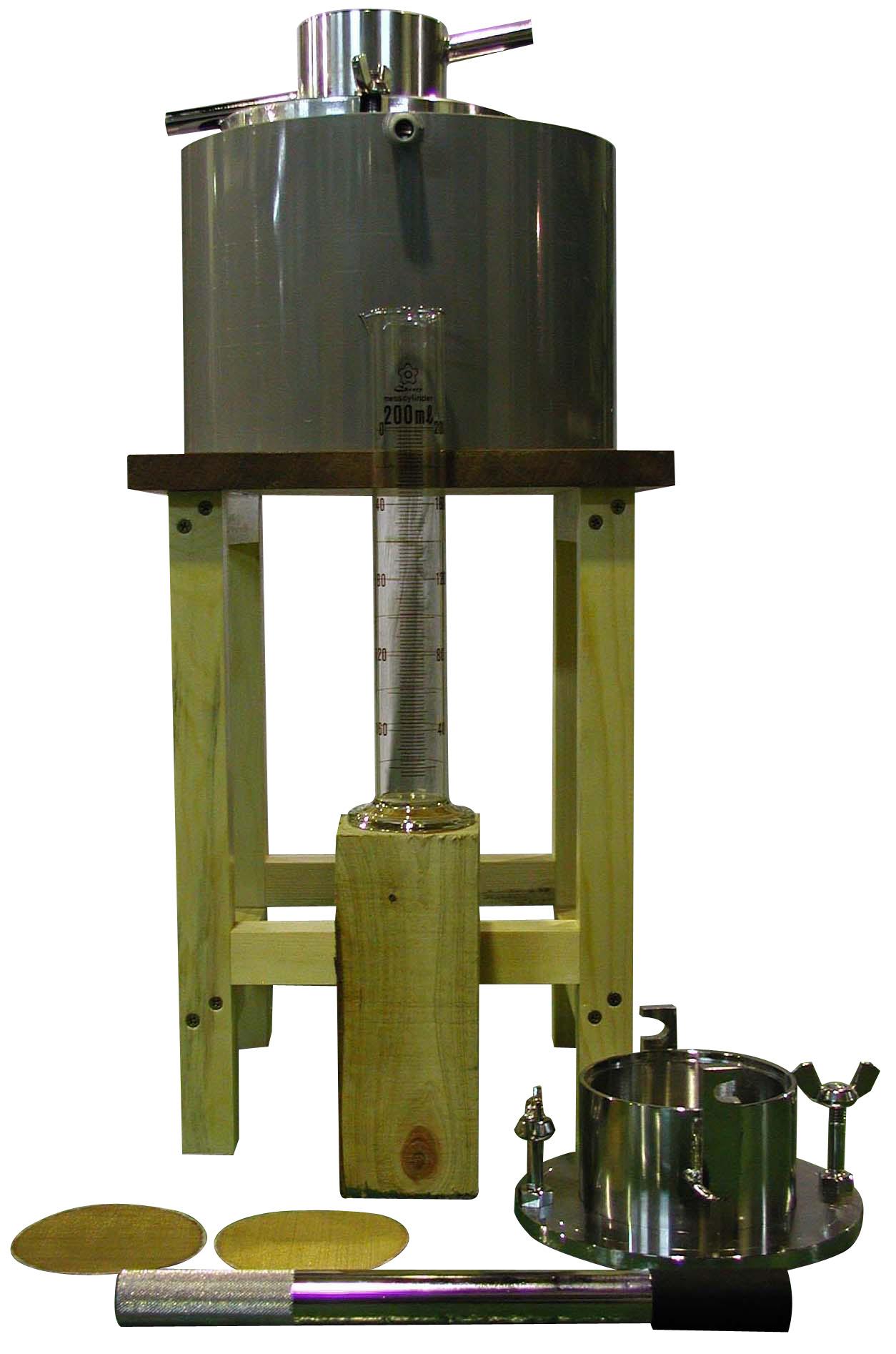 定水位透水試験装置