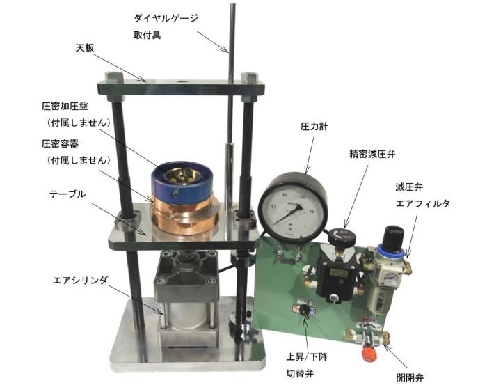 圧密容器圧縮機(構成)