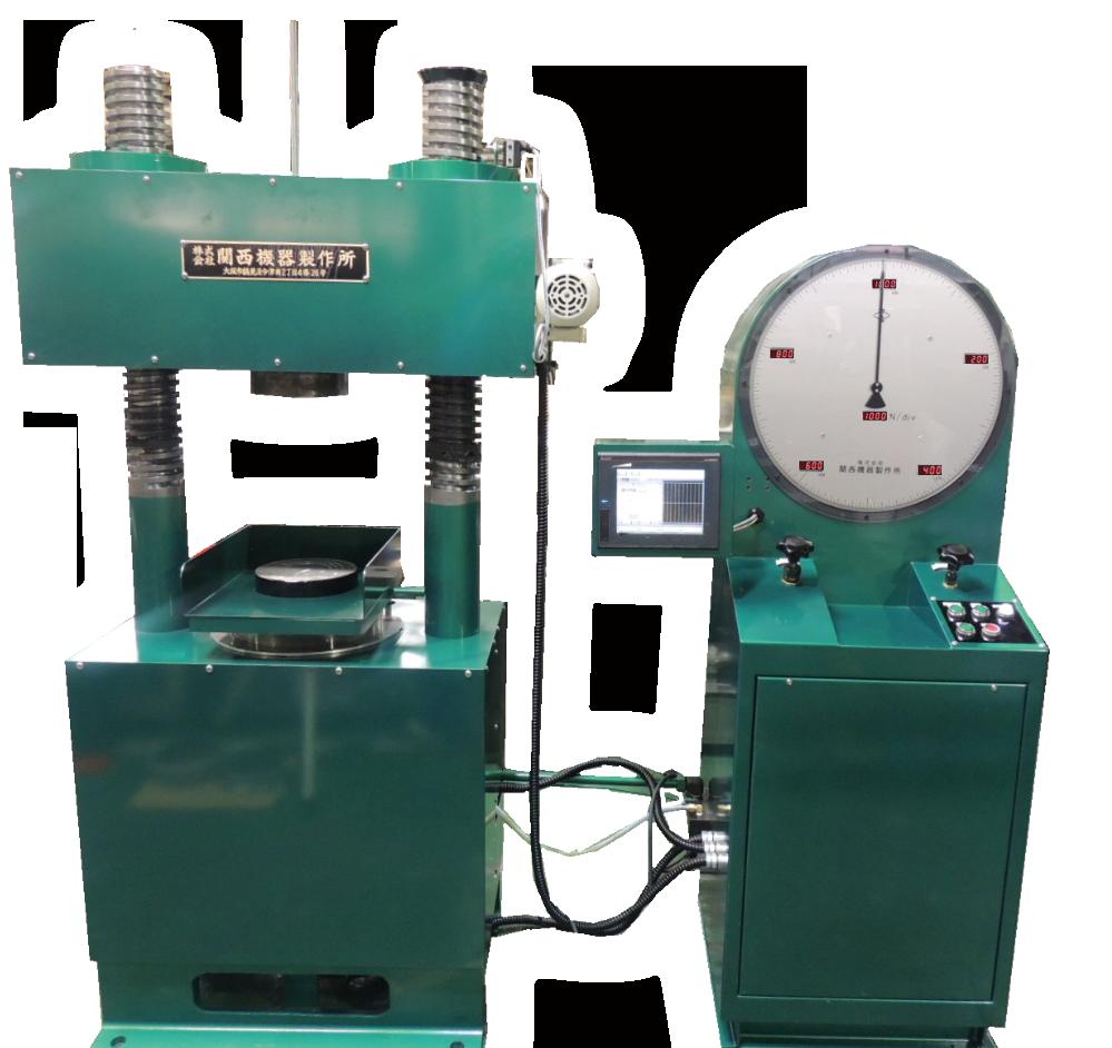 デジタル式手動コンクリート圧縮試験機 A:1000kN/B:2000kN