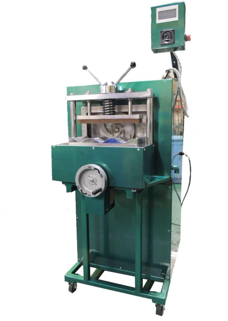 コンクリート供試体研磨機 タッチパネル型 3本同時研磨 10×20cm:5×10cm