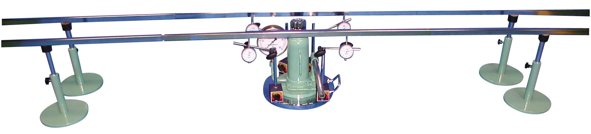 マグネット式平板載荷試験装置(四点計測式)A:50kN B:100kN C:200kN